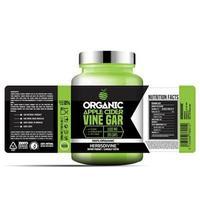 biologische appelcider wijnstokfles label, pakket sjabloonontwerp, labelontwerp, mock-up ontwerp labelsjabloon vector