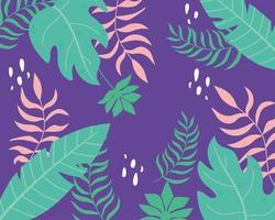 zomer tropische bladeren achtergrond