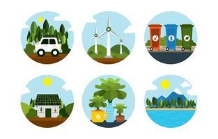 aarde dag pictogram concept
