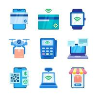 onacte technologie icon set