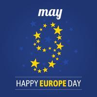 Europa dag achtergrond