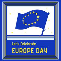 Europa dag viering achtergrond