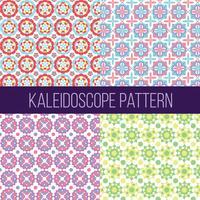Caleidoscoop patroon collectie Vector