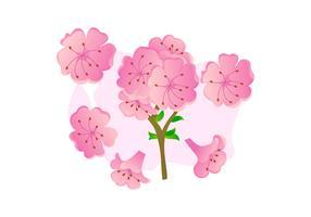 Prachtig Azalea bloemen vectoren