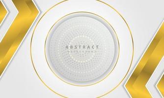 moderne abstracte gouden lijn zilveren vector als achtergrond. elegante conceptontwerp vector. vector ontwerpsjabloon voor gebruik frame, omslag, banner, kaart