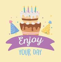 gelukkige verjaardag viering pictogrammen