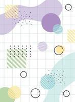 kleurrijke geometrische en abstracte achtergrond