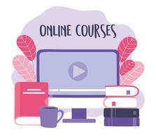 online training met computer