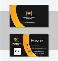 schone professionele sjabloon voor visitekaartjes