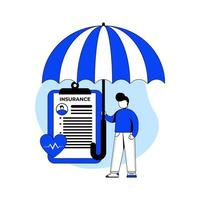 medische verzekering pictogram concept