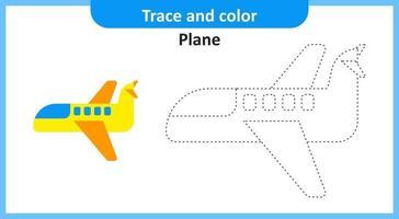 trace en kleur ijsvlak vector