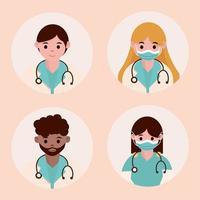 artsen als avatars