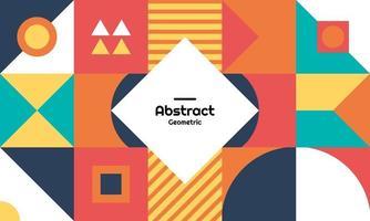 abstract geometrisch patroon als achtergrond