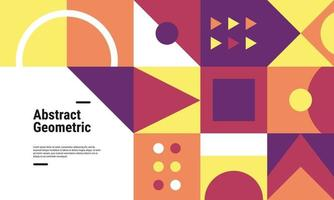 kleurrijke geometrische patroonachtergrond