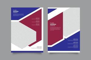 sjabloon abstracte zakelijke webinar flyer