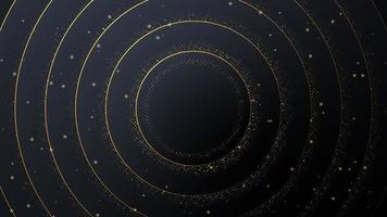 luxe abstracte achtergrond in de vorm van cirkels. vector