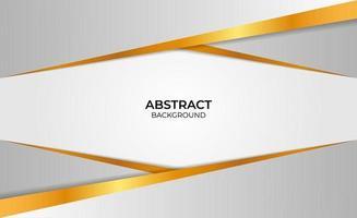 achtergrond goud en grijs abstract vector
