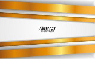 ontwerp luxe witte en gouden achtergrond vector