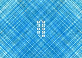 abstracte blauwe gestreepte lijnen streak diagonale achtergrond en textuur. vector