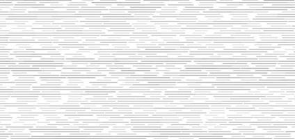 abstracte zwarte horizontale stippellijnen naadloze patroon op witte achtergrond vector