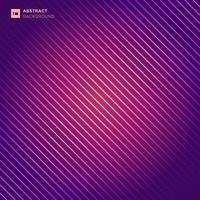 abstract patroon diagonale strepen laserlijn licht op roze en paarse kleur achtergrond.