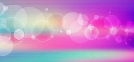 abstracte levendige kleur vervaagd met bokeh fantasie achtergrond. vector