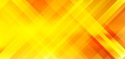 abstracte diagonale strepen gele en oranje kleurverloop achtergrond met verlichtingseffect. vector