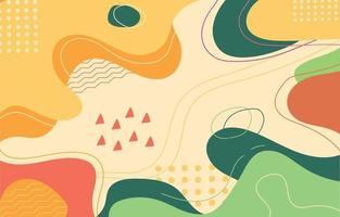 kleurrijke vloeibare achtergrond vector