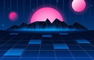 ruimte futuristische achtergrond