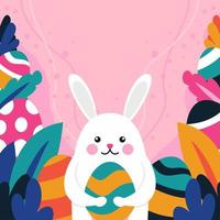 Pasen konijn illustratie vector