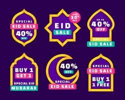 eid mubarak promotielabel