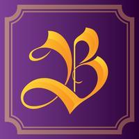 Letter B Typografie