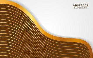 abstract achtergrond bruin en goud ontwerp
