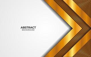 achtergrond abstracte achtergrond bruin en goud vector