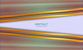 abstract ontwerp als achtergrond blauw en goud vector