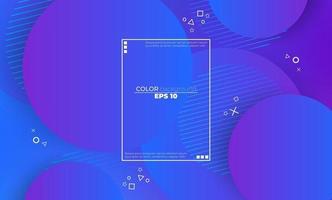 abstract vloeibaar kleurenpatroon van vloeibare gradiëntachtergrond van de neonkleur vector