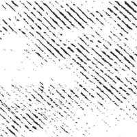 grunge zwarte lijnen en punten op een witte achtergrond - vector afbeelding