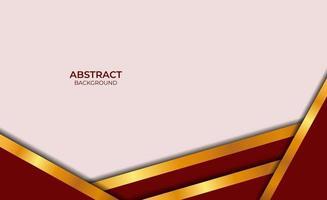 abstract ontwerp rood en goud vector