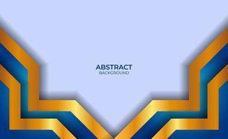 abstracte achtergrond blauw en goud vector