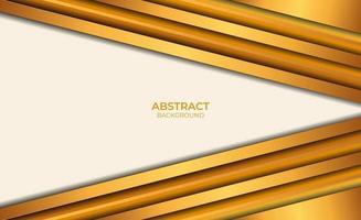 achtergrond abstracte bruine en gouden ontwerpstijl vector