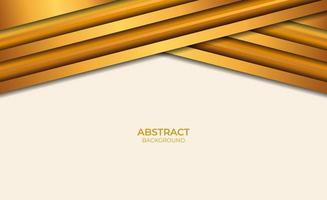abstracte bruine en gouden stijl als achtergrond vector