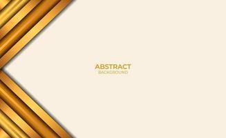 abstracte achtergrondstijl bruin en goud vector