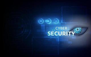 bescherming cyberveiligheid privacy zakelijke internettechnologie ui. vector