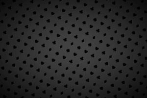 moderne abstracte casino achtergrond met speelkaart borden. pokersymbolen op zwarte achtergrond. casino symbolen. vector breedbeeld behang