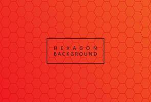 geel zeshoekig honingraatnetwerkpatroon vector