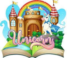 3D pop-upboek met sprookjesthema
