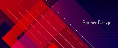 abstracte donkere geometrische kleurrijke moderne decoratieve banner ontwerp achtergrond vector