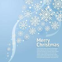 vrolijk kerstfeest. vector en illustratie.
