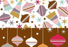 Retro Ornament Illustrator Patroon & Wallpaper Pack vector