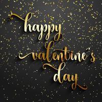 Valentijnsdag confetti achtergrond